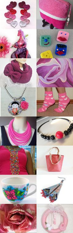 Pink not onely for  princess by Vilma Matuleviciene on Etsy--Pinned with TreasuryPin.com