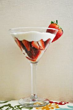 Strawberries Romanoff » Cook Like a Champion