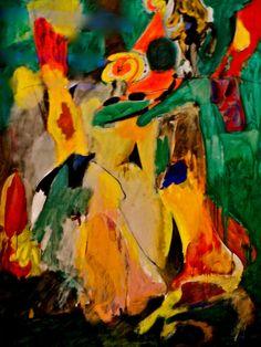 1943 Arshile Gorky (aka Vostanik Manuk Adoyan, Armenian-American, 1904~1948) | Abstract Expressionism