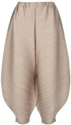 ShopStyle: Pleats Please By Issey Miyake cropped puff trouser