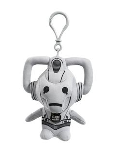 #DoctorWho Small Cyberman - Talking Plush!  Available today!