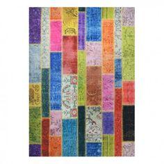 alfombra patchwork modern multi