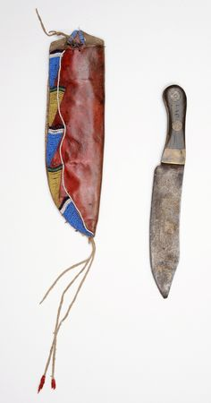 Crow knife case and camp knife  BBHC ac