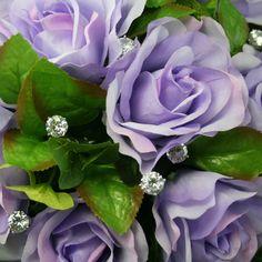 TheBridesBouquet.com - Lavender Silk Rose Nosegay - Bridal Wedding Bouquet, $39.99 (http://www.thebridesbouquet.com/lavender-silk-rose-nosegay-bridal-wedding-bouquet/)