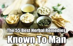 The 55 Best Herbal Remedies Known To Man, herbal remedies, remedy, natural, alternative medicine, survival, homesteading, prepping, health, first aid,