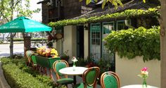 Café Chez Marie on Santa Monica Blvd.