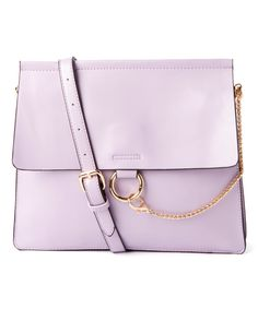 Purple Roomy Crossbody Bag by Zone 6 #zulily