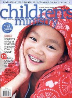 Children's Ministry Magazine (Christian Education) $24.95  FANTASTIC magazine if you work with children!
