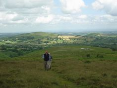 Hike on the English moors ... for Jane Eyre