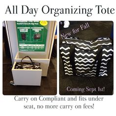No more carry on fees! I Used this on the plane yesterday. Worked perfect and fit under the seat standing up!