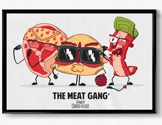 The Meat Gang on Behance
