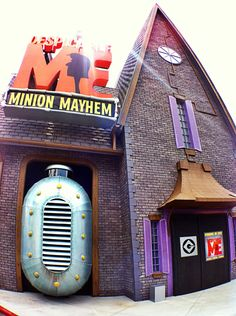 Despicable Me Minion Mayhem. I CANT WAIT TO GO THERE!!!