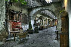 Stajnia cafe, Kazimierz, Krakow, Poland | ( Spring ) | Jerzy | Flickr