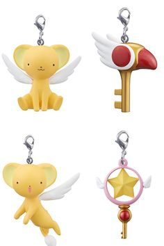 Cardcaptor Sakura Mini Figure Charms [Pre-order]