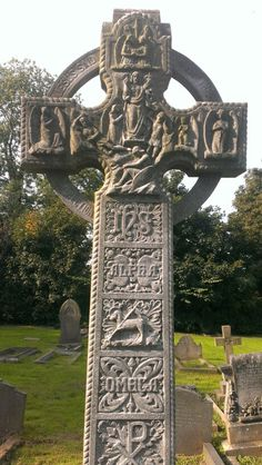 Celtic Cross, Wentworth Church, South Yorkshire, England