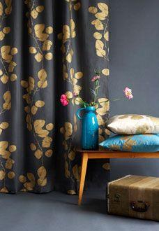 Jocelyn Warner - leaf fabric