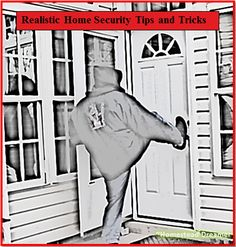 Realistic Home Security Tips & Tricks | Homestead Dreamer | #prepbloggers #home #security