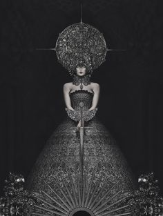 Garjan Atwood was the featured artist on the cover of ISSUE 24 - High Fashion - http://www.darkbeautymag.com/downloads/issue-24-high-fashion-digital-download/  Photographer: Garjan Atwood