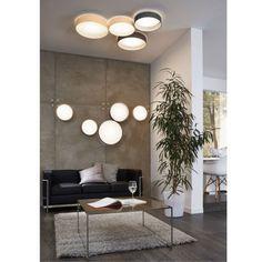 Grote plafondlamp led Palomaro van Eglo kopen | LampenTotaal