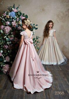Beautiful little girls dresses years kids evening dress prom ball gown pink fancy flower girls dresses Pink Flower Girl Dresses, Little Girl Dresses, Girls Dresses, Flower Girls, Blue Dresses, Girls Party Dress, Birthday Dresses, Cap Dress, Dress Prom