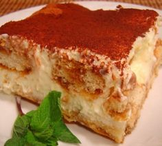 Olive Garden's Top-Secret Tiramisu Recipe~~Love this copycat