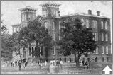 Eastern Alabama Male College founded in 1857; re-opened after the Civil War and renamed Agricultural & Mechanical College of Alabama, until 1899; name changed to Alabama Polytechnic Institute until 1960; now Auburn University; Alabama Methodists deeded EAMC to the state in 1872