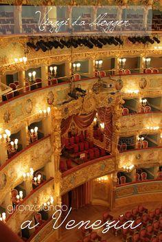 El impresionante Teastro la Fenice, Venecia, Italia