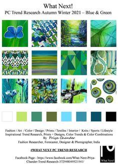 #Blue #green #bluegreen #AW2021 #fashioninspiration #fw2021 #WhatNextPCTrendResearch #PriyaChanderDesigns #FashionForecastByPriyaChander #ColorTrendsByPriyaChander #autumnwinter2021 #Ethnic #fashionforecast2021 #runway #readytowear #fashionconsultant #fashiondesigner #fashionforecaster #fabricprints #interiordecor #interiors #homedecor #InteriordesignTrends #knitwear #hautecouture #fashionweekAW2021 #colortrendsaw2021 #fashionforecast #fashion #art #design #interiortrends2021… Color Trends, Design Trends, Retail Trends, Fashion Forecasting, Color Pairing, Summer Prints, Color Stories, Green Fashion, Summer Colors