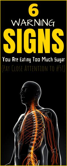6 Warning Signs That You Are Eating Too Much Sugar (Pay Close Attention to - Health Remedies Health Tips For Women, Health Advice, Health Care, Women Health, Healthy Women, Healthy Tips, Healthy Habits, Healthy Drinks, Healthy Recipes