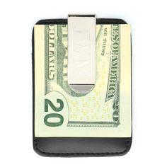 Engraved Money Clip &vCredit Card Holder Groomsmen Gift   The Preppy Pair