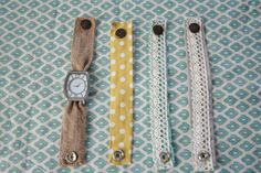 Fast Fabric Watch Band Craft - J&O Fabrics Store Newsletter Blog