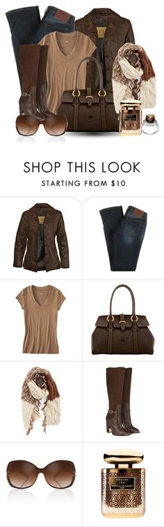 """""""CASUAL night out"""" by vst063090 ❤ liked on Polyvore featuring STS Ranchwear, D&G, Mossimo, Dooney & Bourke, Treasure & Bond, Rachel Zoe, By Terry and Journee Collection"""