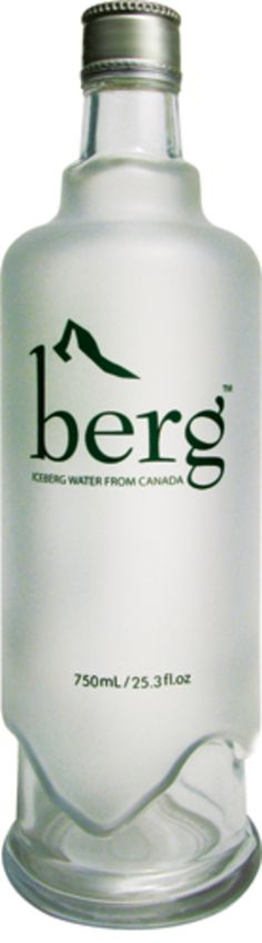 Berg water from Canada. How about this one water packaging loving peeps? PD