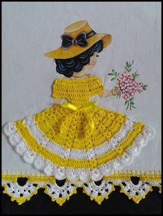 Crochet Applique Patterns Free, Crochet Bikini Pattern, Christmas Crochet Patterns, Crochet Patterns Amigurumi, Crochet Dolls, Crochet Clothes, Crochet Art, Crochet Crafts, Crochet Projects