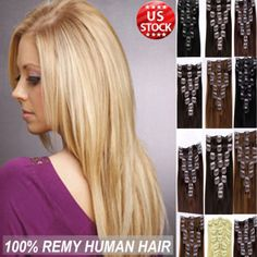 Best quality 100 true clip in remy human hair extensions full premium 100 real good clip in remy human hair extensions full head blondish a39 pmusecretfo Choice Image