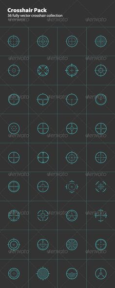 36 Round Crosshair Collection $5.00