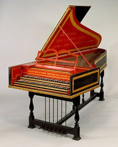 Harpsichord manufactured by Chickering & Sons under the direction of Arnold Dolmetsch (1909, Boston, Massachusetts, USA). Wood, various materials. The Metropolitan Museum of Art, New York, USA