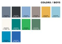 Lenzing Color Trends Spring/Summer 2015 - Color Usage Kids Boys | Posted By Senay GOKCEN, Editor-in-Chief | Fashion Trendsetter