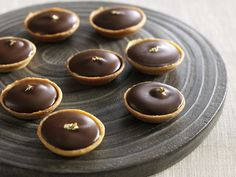 Čokoládové tartletky