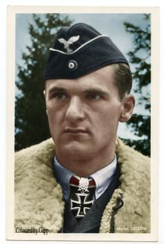 ✠ Günther Lützow September 1912 – 24 April Posted missing near Donauwörth. RK Major Kommodore JG 3 + EL] Major Kommodore JG 3 Scored 110 victories with and an all jet squadron. Luftwaffe, Adolf Galland, Germany Ww2, German Uniforms, Fighter Pilot, German Army, World War Two, Wwii, Knight