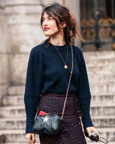 "421 Likes, 6 Comments - Carola de Armas (@caroladearmas) on Instagram: ""@jeannedamas #jeannedamas #parisfashionweek #pfw #fw18 #nikonistas #streetstyle for @glamourspain …"""