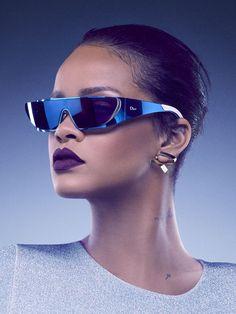 Les lunettes de soleil Rihanna pour Dior