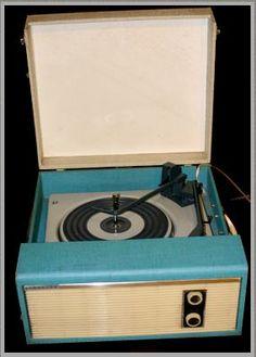 1960s Fidelity auto record player