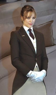 Women Ties, Suits For Women, Women Wearing Ties, Rachel Mcadams, Collar Blouse, Hot Outfits, Suit Fashion, Work Attire, Preppy