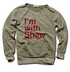 Andrew Shaw Officially Licensed NHLPA Chicago Women's MANIAC Sweatshirt S-XL I'm With Shaw