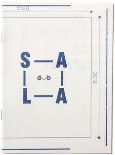 S—A—L—A DEEPBEEP : FANZINE Print Layout, Layout Design, Print Design, Graphic Design, Editorial Design, Editorial Layout, Typography, Lettering, Book Layout