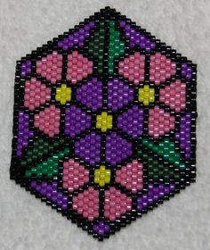 Mandala Brick Stitch Patterns - ebook on Craftsy