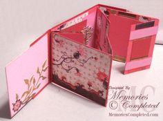 ** Il mio Crafting.com carta **: flip Tutorial Album