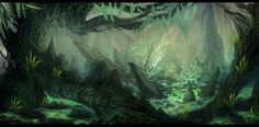 Environment Painting 1 by Narandel on DeviantArt