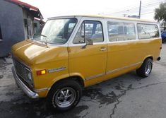 Just so nobody thinks the aftermarket wheels and tires were a recent addition, we'll reiterate what the seller of this 1972 Chevrolet Sportvan listed on Hem Chevrolet Van, Chevy Vehicles, Aftermarket Wheels, Vanz, Chevy Pickups, Wheels And Tires, Vintage Trucks, Kustom, Van Life